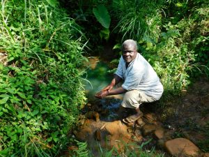 The Water Project:  Samwel Magomere