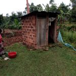 The Water Project: Bumavi Community, Joseph Njajula Spring -  Mud Latrine