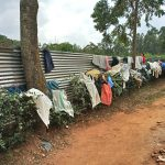 The Water Project: Kimangeti Girls' Secondary School -  Clothes Drying