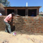 The Water Project: Namakoye Primary School -  Latrine Construction