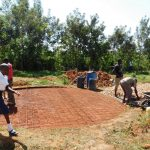 The Water Project: Namasanda Secondary School -  Tank Construction
