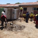 The Water Project: Shibinga Primary School -  Tank Construction