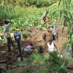 The Water Project: Mukangu Community, Lihungu Spring -  Excavation