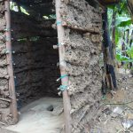 The Water Project: Emulakha Community, Nalianya Spring -  Sanitation Platform In New Latrine