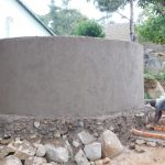 The Water Project: Esibila Secondary School -  Tank Construction