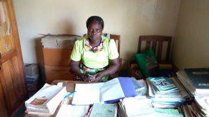 The Water Project:  Headteacher Mmbone