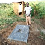 The Water Project: Musango Community, Ndalusia Spring -  Finished Sanitation Platform