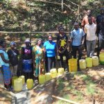 The Water Project: Ilala Community, Arnold Johnny Spring -  Flowing Water