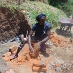 The Water Project: Musango Community, Mwichinga Spring -  Spring Construction