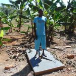 The Water Project: Bukhaywa Community, Asumani Spring -  Finished Sanitation Platform