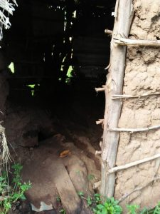 The Water Project:  Inside Of Latrine