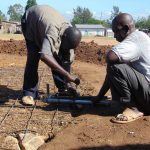 The Water Project: Namakoye Primary School -  Fixing The Pipes