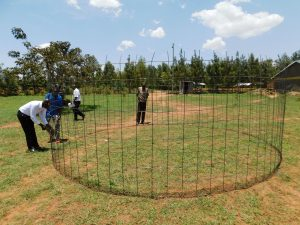 The Water Project:  Tank Wire Mesh