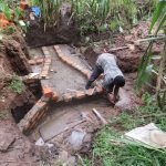 The Water Project: Mukangu Community, Lihungu Spring -  Spring Construction