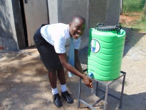 The Water Project:  Handwashing Station By New Latrines