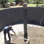 The Water Project: Irobo Primary School -  Tank Construction