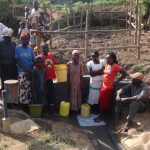 The Water Project: Emulakha Community, Nalianya Spring -  Flowing Water
