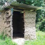 The Water Project: Buyangu Community, Osundwa Spring -  Mud Latrine