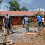 The Water Project: Majengo Primary School -  Community Members Helping The Artisans
