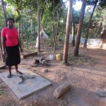 The Water Project: Rosterman Community, Kidiga Spring -  Sanitation Platform