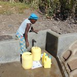 The Water Project: Bukhaywa Community, Asumani Spring -  Flowing Water