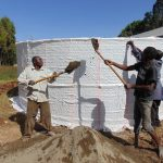 The Water Project: Bojonge Primary School -  Tank Construction