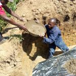 The Water Project: Lukova Community, Wasike Spring -  Foundation Work