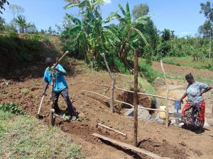 The Water Project:  Fencing The Catchment Area