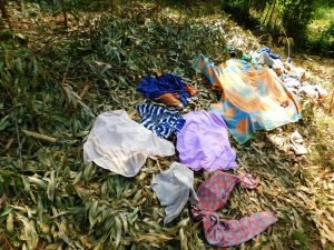 The Water Project:  Clothes Drying On Ground
