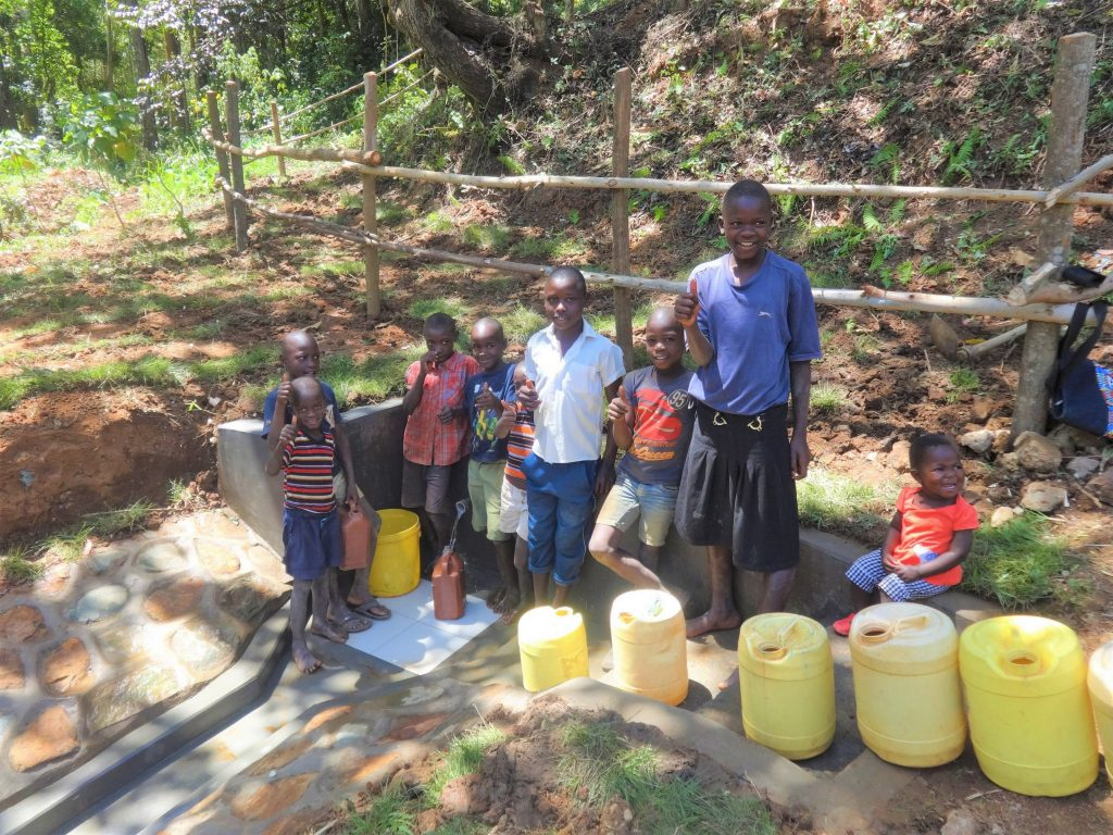 The Water Project : 21-kenya19088-flowing-water