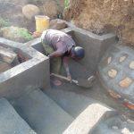 The Water Project: Musango Community, Mwichinga Spring -  Spring Construction