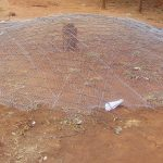 The Water Project: Majengo Primary School -  Dome Reinforcement