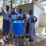 The Water Project: Matungu SDA Special School -  Handwashing Station