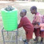 The Water Project: Irobo Primary School -  Handwashing Station