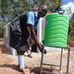 The Water Project: Khabukoshe Primary School -  Handwashing Station