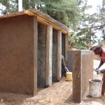 The Water Project: Kegoye Primary School -  Latrine Construction