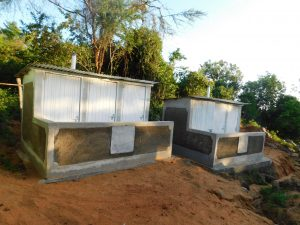 The Water Project:  Finished Latrines