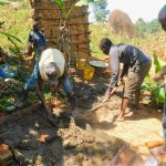 The Water Project: Ngeny Barak Community, Ngeny Barak Spring -  Sanitation Platform Construction