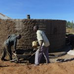 The Water Project: Namakoye Primary School -  Tank Construction