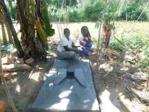 The Water Project:  A Finished Sanitation Platform