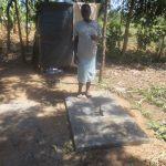 The Water Project: Lukova Community, Wasike Spring -  Sanitation Platform