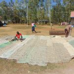 The Water Project: Namakoye Primary School -  Working On The Dome