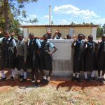 The Water Project: Khabukoshe Primary School -  New Latrines