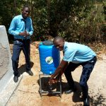 The Water Project: Musango Mixed Secondary School -  Handwashing Station