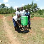 The Water Project: Namasanda Secondary School -  Handwashing Station