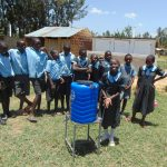 The Water Project: Namakoye Primary School -  New Handwashing Station