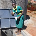 The Water Project: Majengo Primary School -  Flowing Water