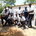 The Water Project: Namasanda Secondary School -  Finished Latrines