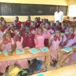 The Water Project: Irobo Primary School -  Students With New Toothbrushes And Toothpaste