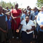 The Water Project: Khabukoshe Primary School -  Tank Care Training